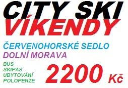 Víkendy se CITY SKI